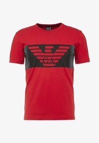 EA7 Emporio Armani - Camiseta estampada - red - 3