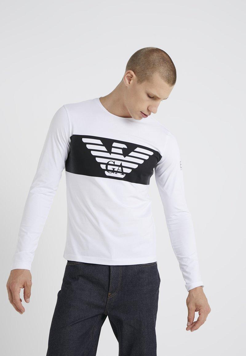 EA7 Emporio Armani - Pitkähihainen paita - white
