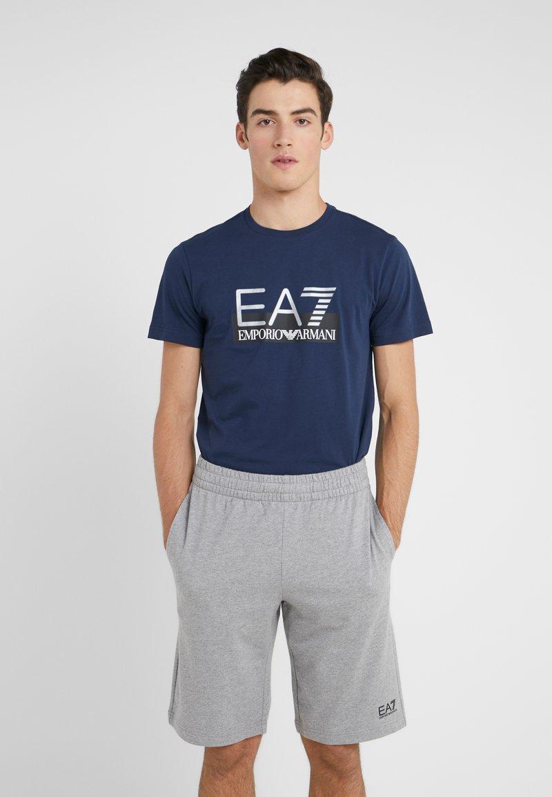 EA7 Emporio Armani - T-Shirt print - dark blue