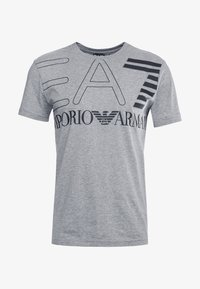 EA7 Emporio Armani - T-shirt imprimé - light grey melange - 3