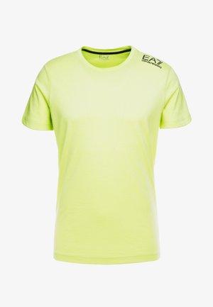 T-shirt print - neon / yellow / black