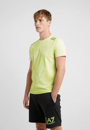 Camiseta estampada - neon / yellow / black
