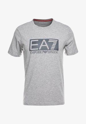 T-Shirt print - medium grey
