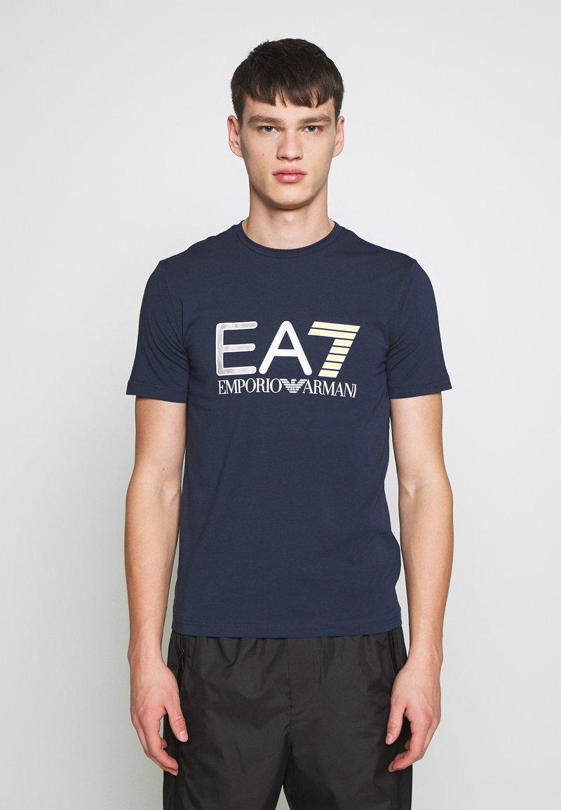 EA7 Emporio Armani - T-shirt print - navy blue