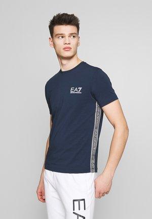 T-shirt med print - navy blue