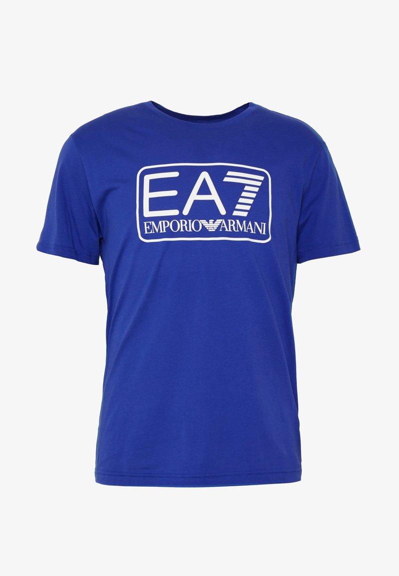 EA7 Emporio Armani T-shirts med print - mazarine