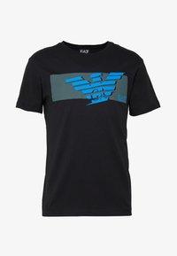 EA7 Emporio Armani - T-shirt print - black - 3