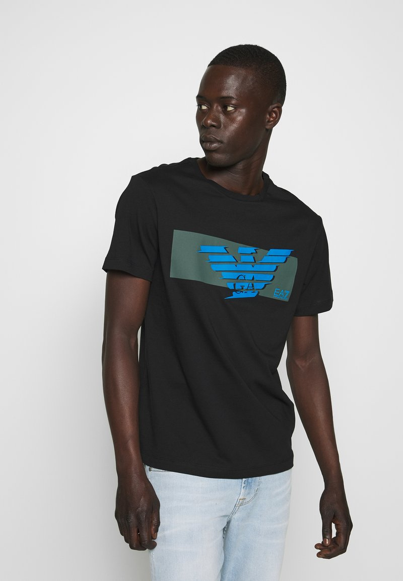 EA7 Emporio Armani - T-shirt print - black