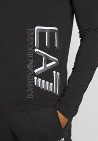 EA7 Emporio Armani - Bluzka z długim rękawem - black - 5