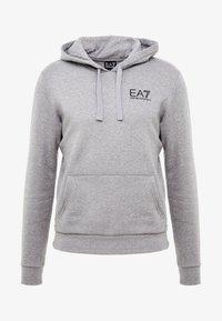 EA7 Emporio Armani - Hoodie - medium grey melange - 3