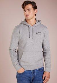 EA7 Emporio Armani - Hoodie - medium grey melange - 0