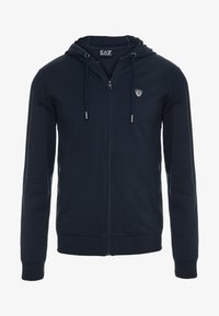 EA7 Emporio Armani - Zip-up hoodie - dark blue - 3