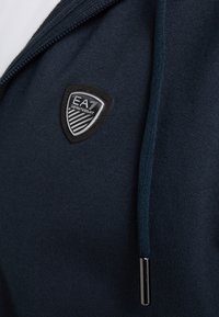 EA7 Emporio Armani - Zip-up hoodie - dark blue - 4