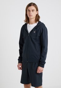 EA7 Emporio Armani - Zip-up hoodie - dark blue - 0