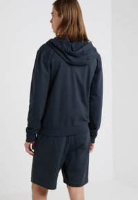 EA7 Emporio Armani - Zip-up hoodie - dark blue - 2