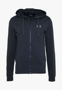 EA7 Emporio Armani - Mikina na zip - night blue
