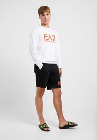 EA7 Emporio Armani - Sweatshirt - white/neon/orange - 1