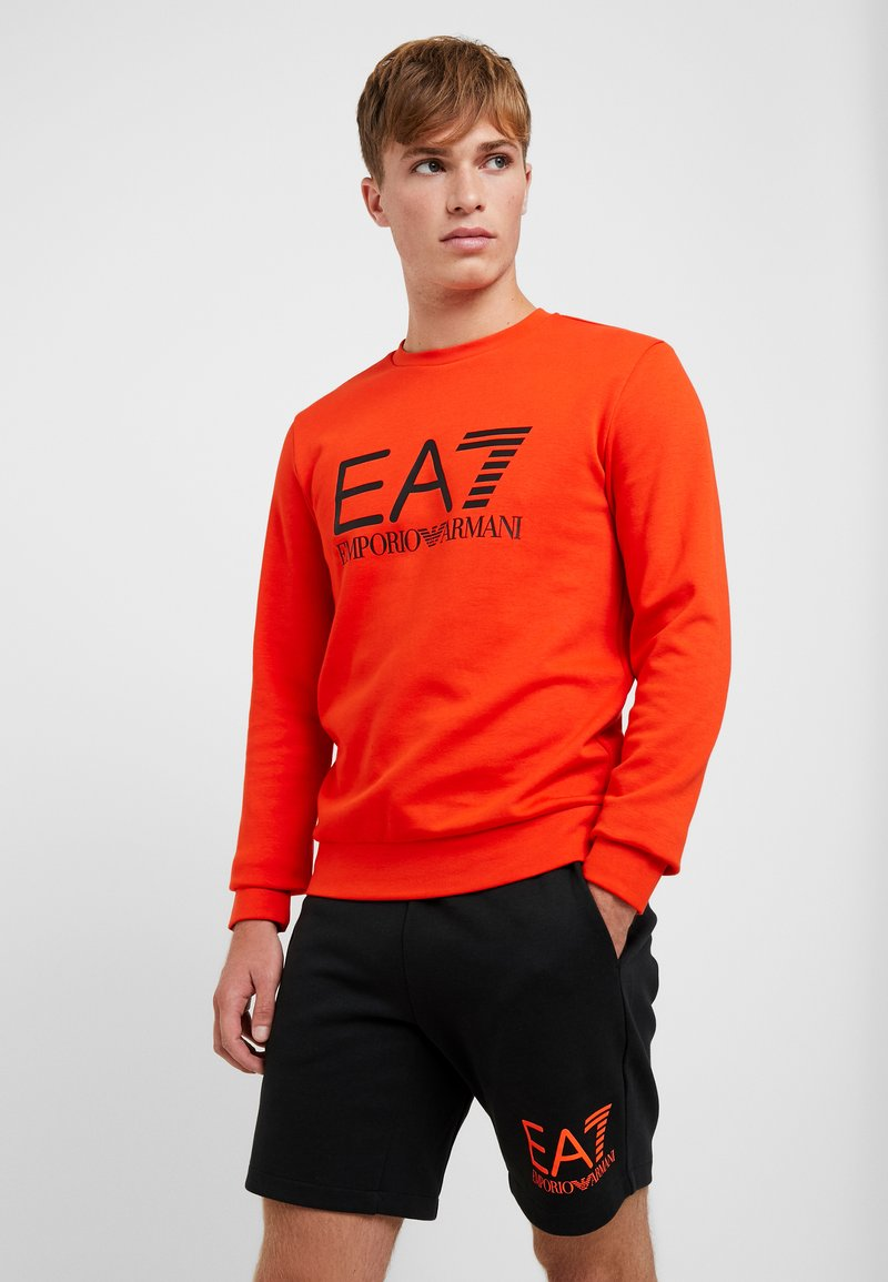EA7 Emporio Armani - Sweatshirt - neon / orange / black