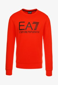 EA7 Emporio Armani - Sweatshirt - neon / orange / black - 4