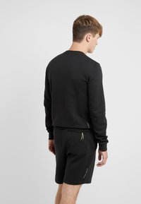 EA7 Emporio Armani - Sweatshirt - black / neon / yellow - 2