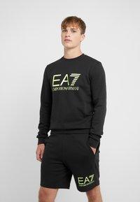 EA7 Emporio Armani - Sweatshirt - black / neon / yellow - 0