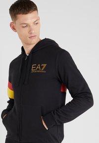 EA7 Emporio Armani - Mikina na zip - black - 4