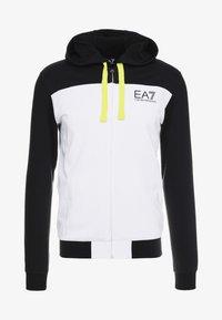 EA7 Emporio Armani - veste en sweat zippée - black - 3