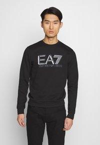 EA7 Emporio Armani - FELPA - Sweatshirt - black - 0