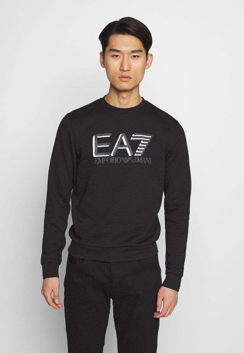 EA7 Emporio Armani - FELPA - Sweatshirt - black
