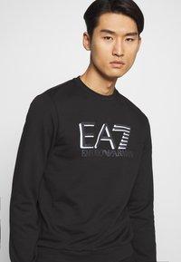 EA7 Emporio Armani - FELPA - Sweatshirt - black - 4