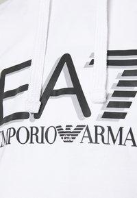 EA7 Emporio Armani - Bluza z kapturem - white - 5