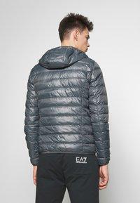 EA7 Emporio Armani - GIACCA  - Down jacket - iron gate - 2
