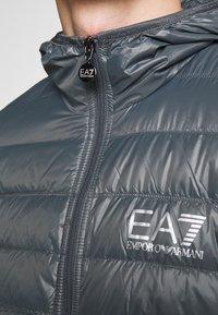 EA7 Emporio Armani - GIACCA  - Down jacket - iron gate - 6