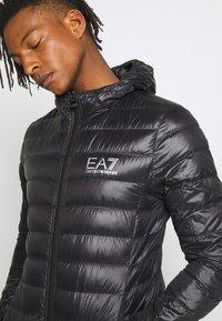 EA7 Emporio Armani - GIACCA PIUMINO - Gewatteerde jas - black - 3