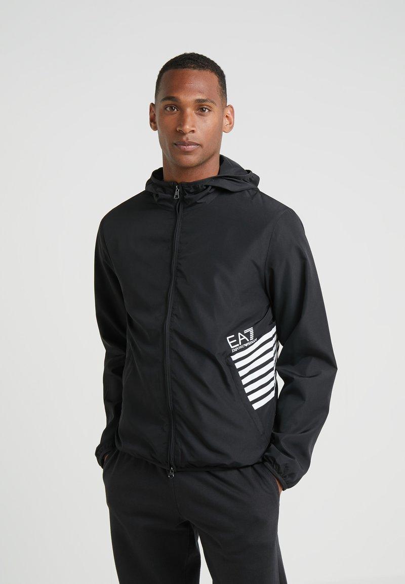 EA7 Emporio Armani - GIUBBOTTO - Summer jacket - black