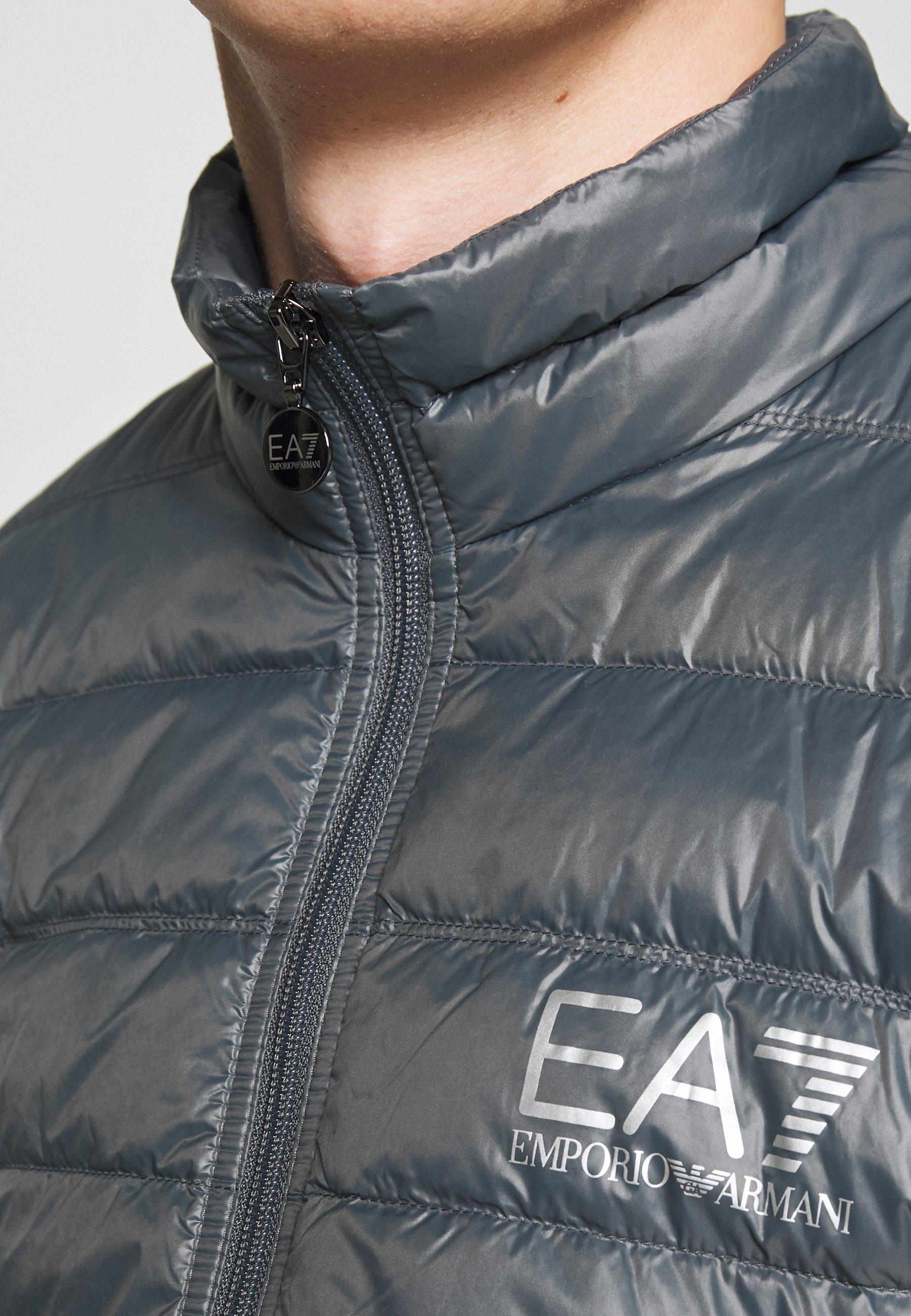 EA7 Emporio Armani Down jacket - iron gate
