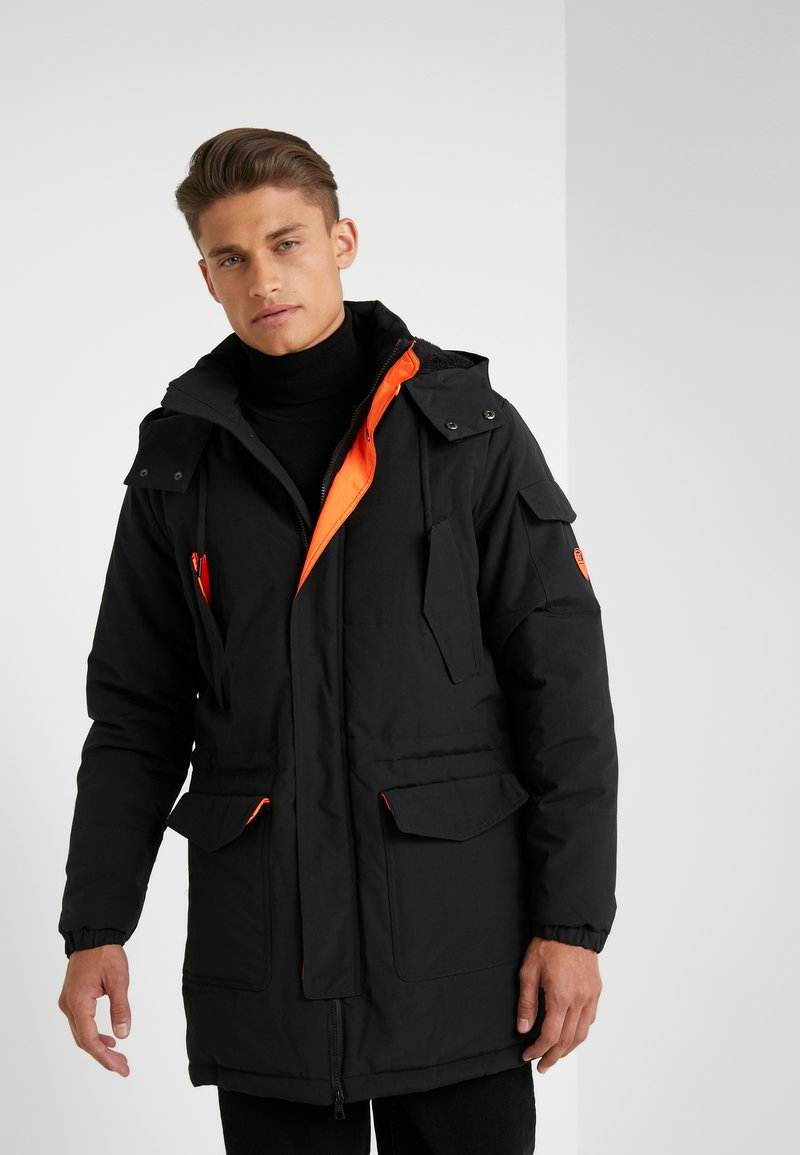 EA7 Emporio Armani - CABAN COAT - Veste d'hiver - black