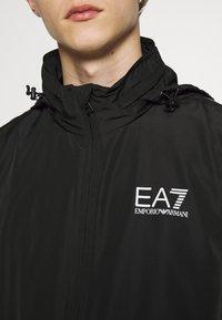 EA7 Emporio Armani - GIUBBOTTO - Vindjakke - black - 4