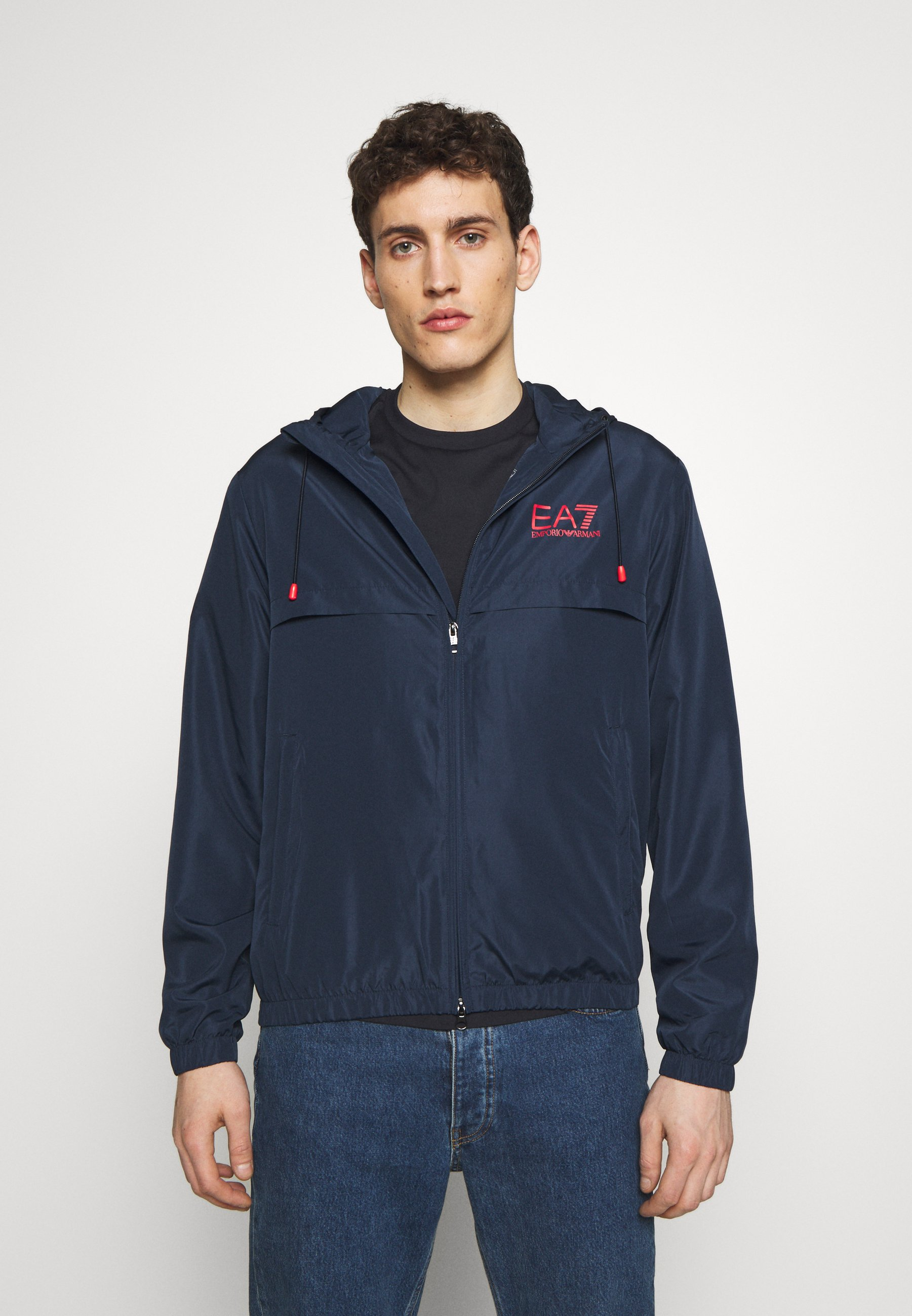 EA7 Emporio Armani GIUBBOTTO - Training jacket - navy blue