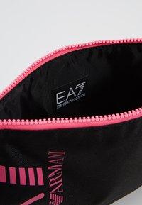 EA7 Emporio Armani - CLUTCH BAG NEON - Clutch - black / neon pink - 4