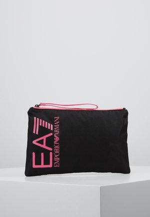 CLUTCH BAG NEON - Clutch - black / neon pink