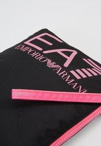 EA7 Emporio Armani - CLUTCH BAG NEON - Clutch - black / neon pink - 6