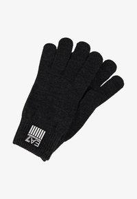 EA7 Emporio Armani - Gloves - carbon melange - 1