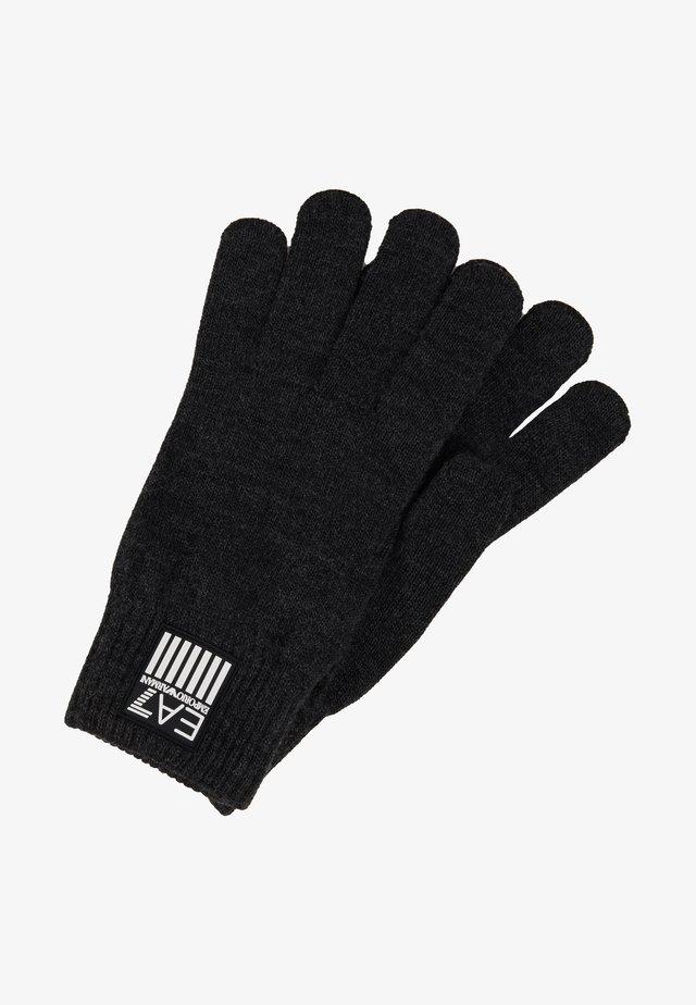 Gloves - carbon melange