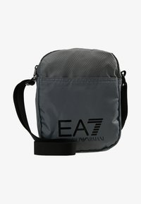 EA7 Emporio Armani - TRAIN PRIME POUCHBAG SMALL  - Taška spříčným popruhem - agento silver - 5