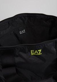 EA7 Emporio Armani - Weekendveske - black/yellow fluo - 4