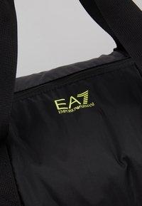 EA7 Emporio Armani - Weekendveske - black/yellow fluo - 6
