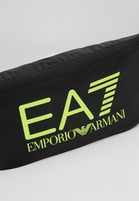 EA7 Emporio Armani - Sac banane - black / neon / yellow - 6