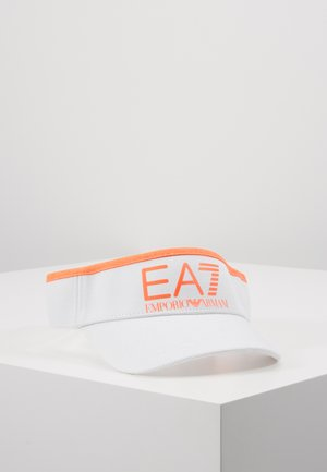 Cap - white/neon/orange