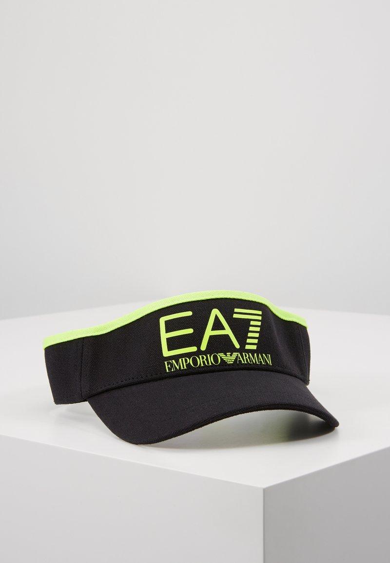 EA7 Emporio Armani - Kšiltovka - black / neon / yellow